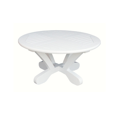 "Cayman White 36"" Conversation Table"