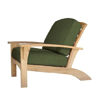 Augusta Reclining Teak Club Chair