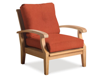 Cayman Deep Seating Teak Club Chair