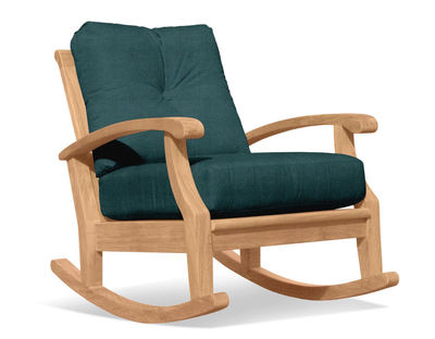 Cayman Deep Seating Teak Rocker