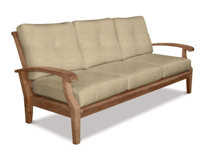 Cayman Deep Seating Teak Sofa