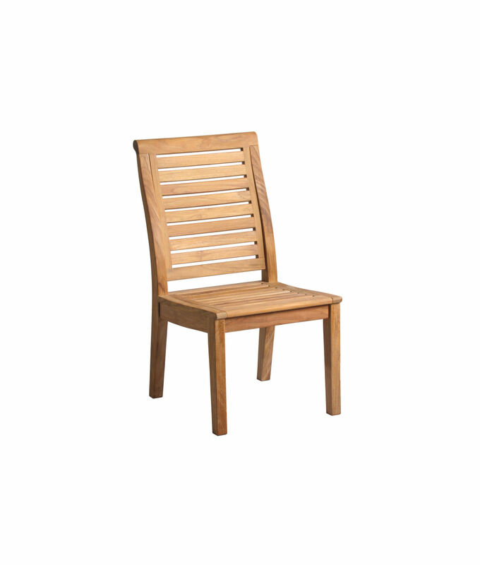 Douglas Nance Cayman Teak Dining Side Chair