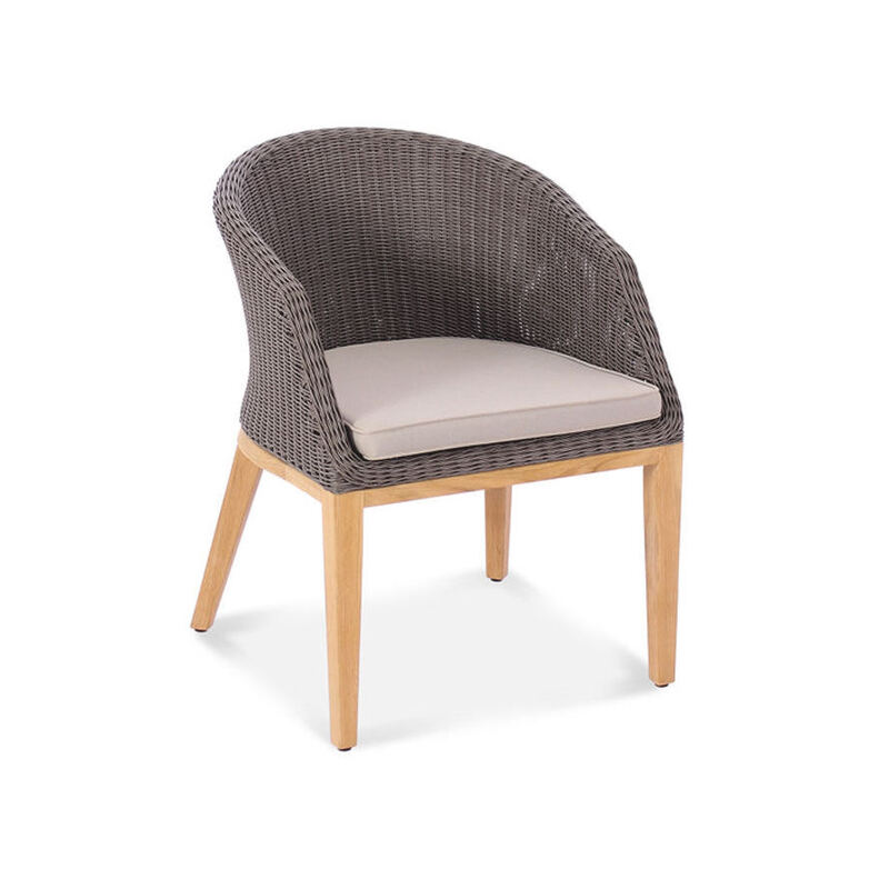 Capri Wicker Dining Armchair