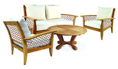 Teak Palma Deep Seating