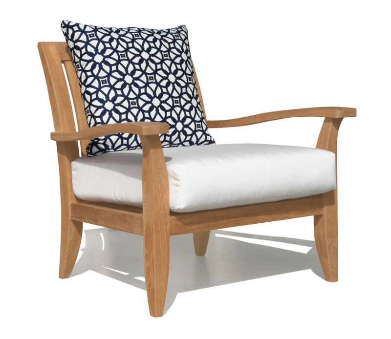 Palma Deep Seating Teak Club Chair